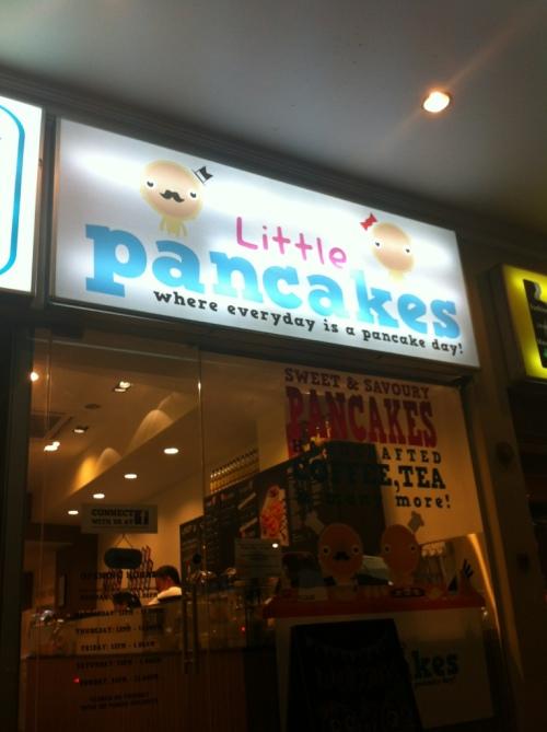 little pancakes shopfront