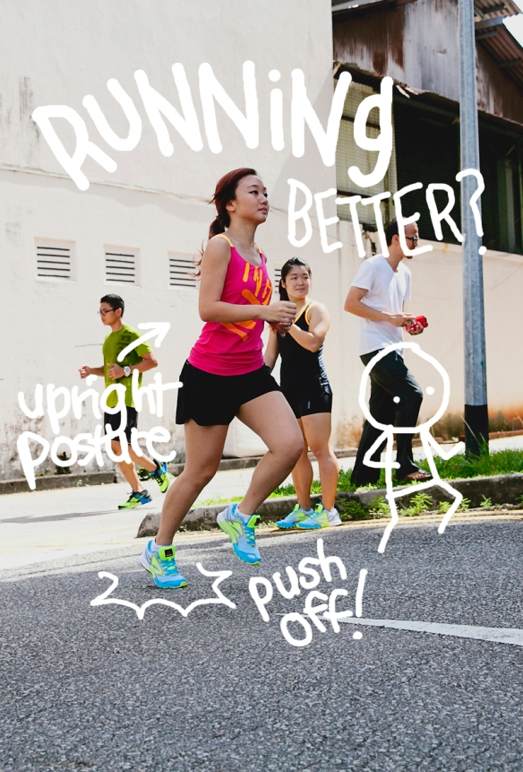 run with posture